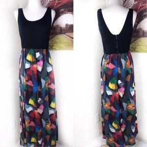 Alice _+ Olivia multi color maxi dress